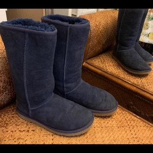 Classic Navy Blue UGG Boots